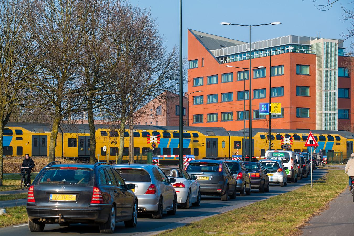 Er komt een spoorwegtunnel aan de Laan van Osseveld.