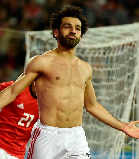 Salah houdt Egypte in de race met 39ste goal