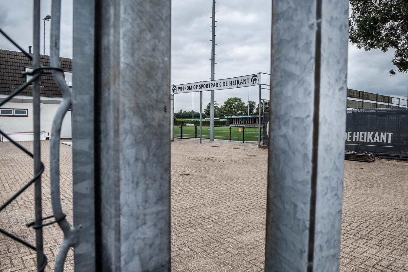 Het sportcomplex van Achilles'29 in Groesbeek.