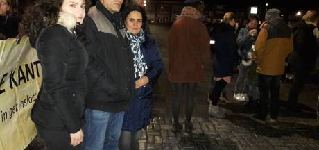 Demonstratie kinderpardon in Rijen verloopt rustig
