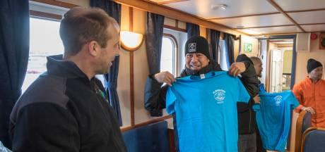 Zo vieren schippers kerst op zee: 'Ik neem m'n ukelele mee'
