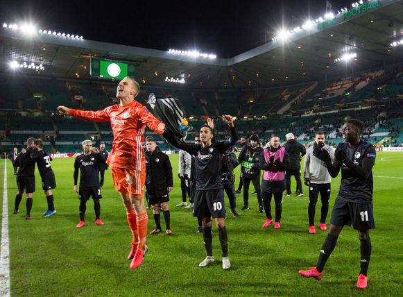 De spelers van FC Kopenhagen.