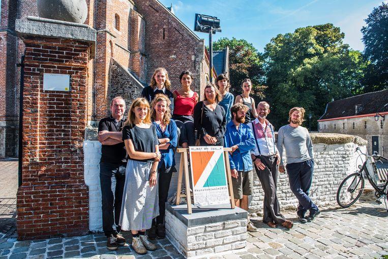 16 kunstenaars hertekenen het landschap tijdens Kunst & Zwalm.