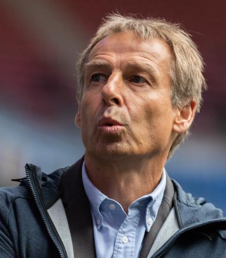Klinsmann nieuwe trainer van Hertha BSC