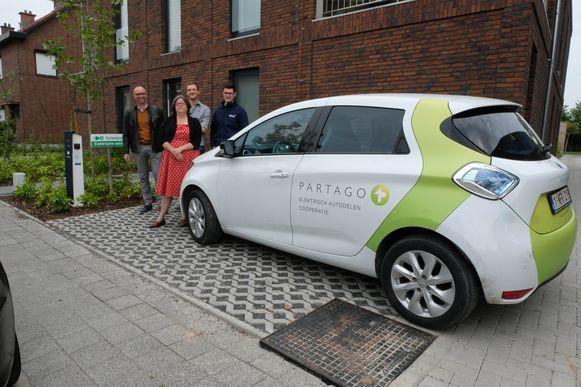 De eerste autodeelwagen van Klein-Brabant werd zaterdag voorgesteld.