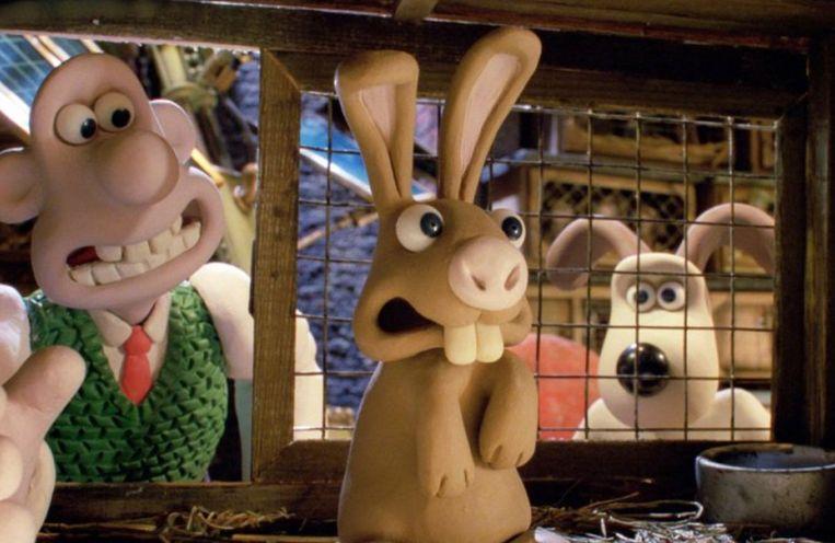 Beeld uit Wallace & Gromit in the Curse of the Were-Rabbit van Nick Park en Steve Box Beeld