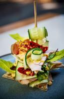 Een gerecht uit de keuken van het museumrestaurant Art & Dining in het Dordrechts Museum.