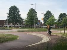 Lijnen, voetpad en bochten voor meer veiligheid op de fiets rond Kamper scholen