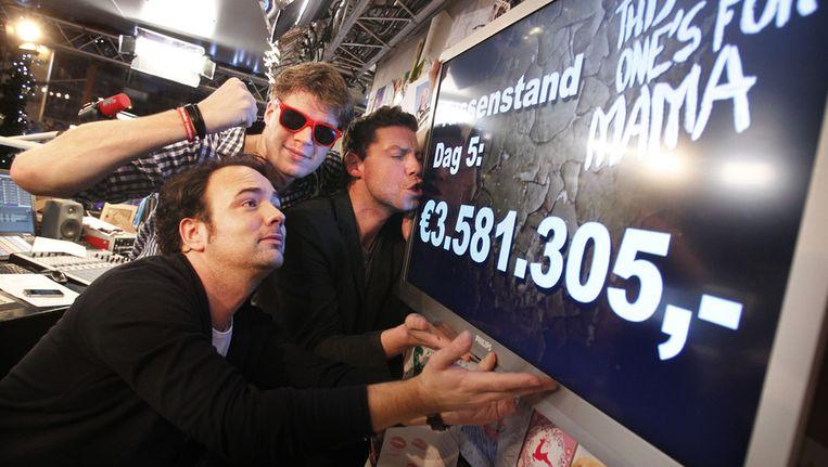 Gistermiddag stond de teller op 3.581.305 euro. © ANP Beeld