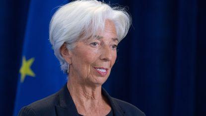 Christine Lagarde nieuwe ECB-voorzitter