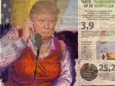 Zo ziet Trump eruit in badpak