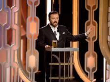 Ricky Gervais keert terug als presentator Golden Globes