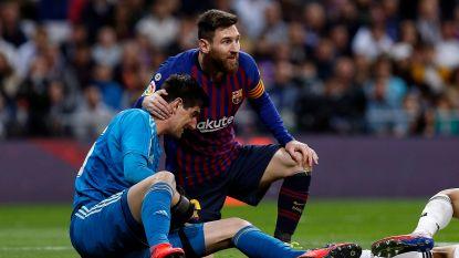 """""""Ik bestudeer Messi zoals elke andere speler"""", zegt Courtois, waarna ze bij Barcelona zoals voor de vorige Clásico fijntjes terugprikken"""