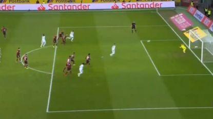 Thorgan Hazard met elfde goal andermaal van vitaal belang voor Gladbach, al laat hij zich ook opmerken met genante penaltymisser