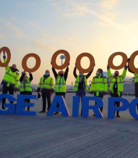 1 million de tonnes de marchandises transportées grâce à Liege Airport