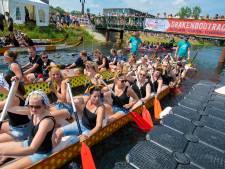 Recordaantal bezoekers voor Drakenbootfestival in Apeldoorn