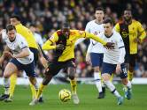 Tottenham ploetert ook tegen degradatiekandidaat Watford