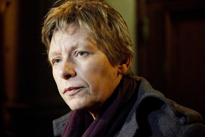 Voorzitter Tanja Ineke van het COC.
