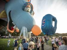 Opvallendste ballon blijft aan de grond bij Twente Ballooning