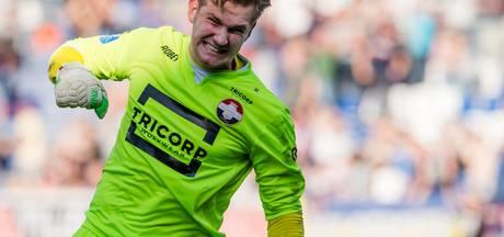 Mattijs Branderhorst is nu eerste doelman Willem II