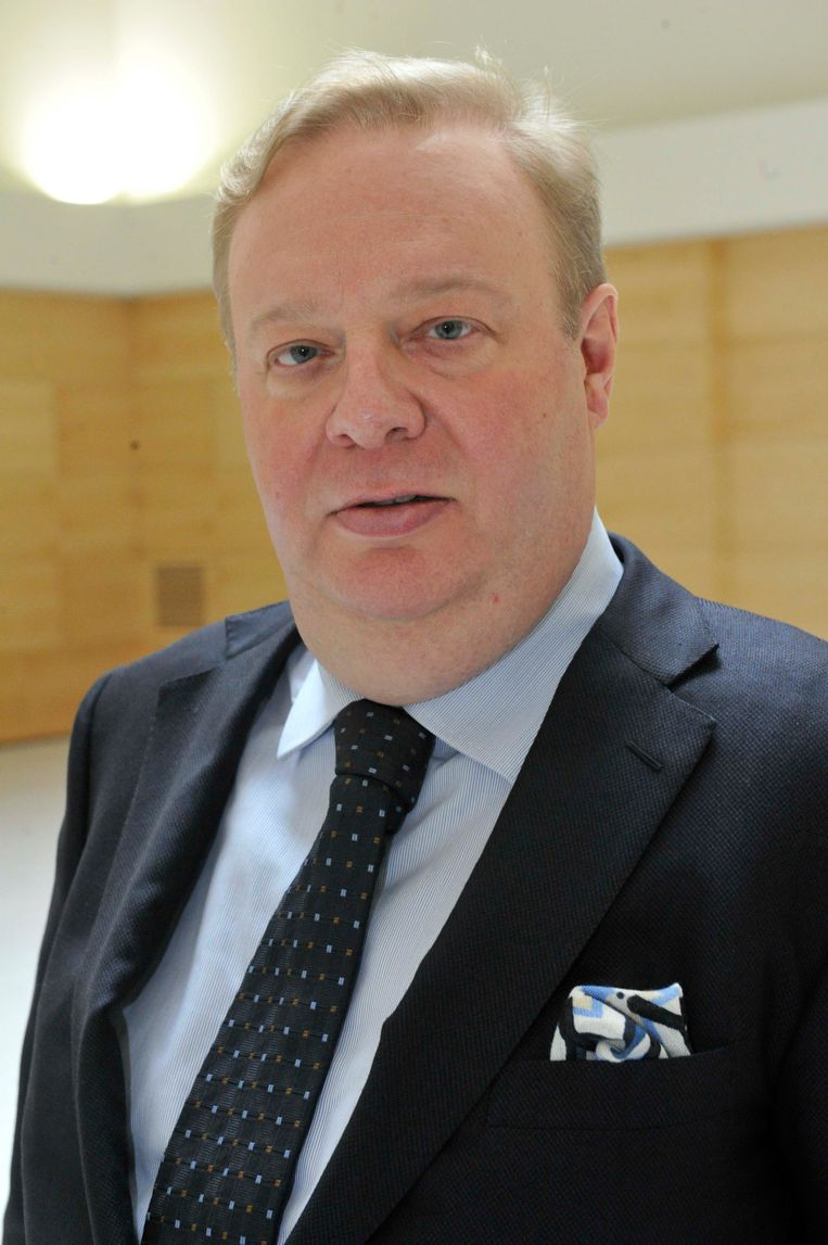 Frank De Bock in 2015 in het nieuwe crematorium in Eppegem, kort voor hij ontslagen werd.