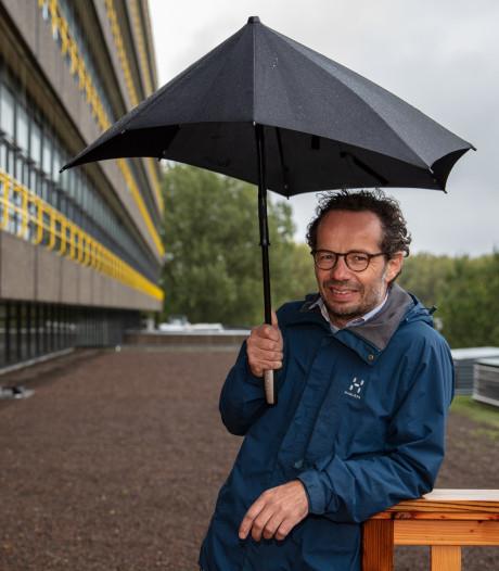 Groen 'polderdak' voor faculteit TU Delft