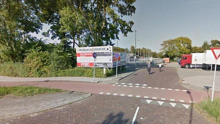 Voetbalclub Odin '59 in Heemskerk Beeld Google Streetview