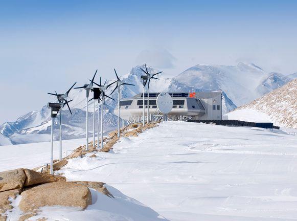 De Prinses Elisabethbasis op Antarctica