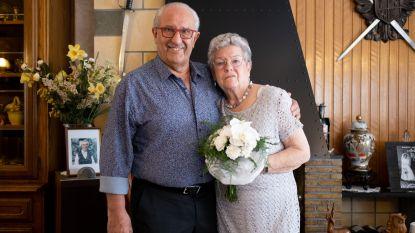 Marie-Louise en André vieren diamanten bruiloft