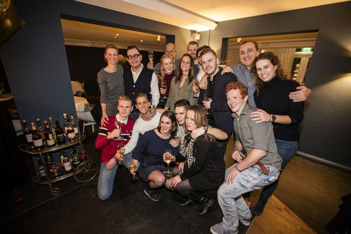 Jan Sobecki van restaurant Tribeca met zijn team.