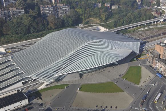 Het station Liège-Guillemins