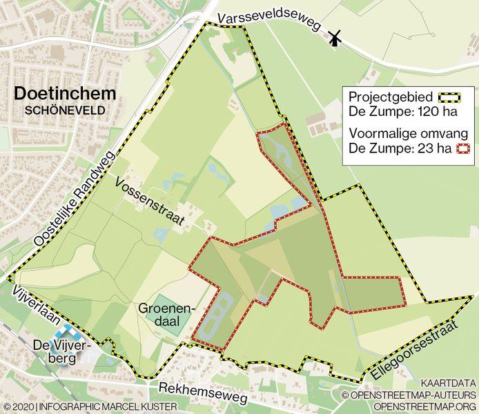 WEB3513, ALLEEN VOOR WEB, infographic, Marcel, Kuster, Zumpe, Doetinchem, projectgebied, Schöneveld