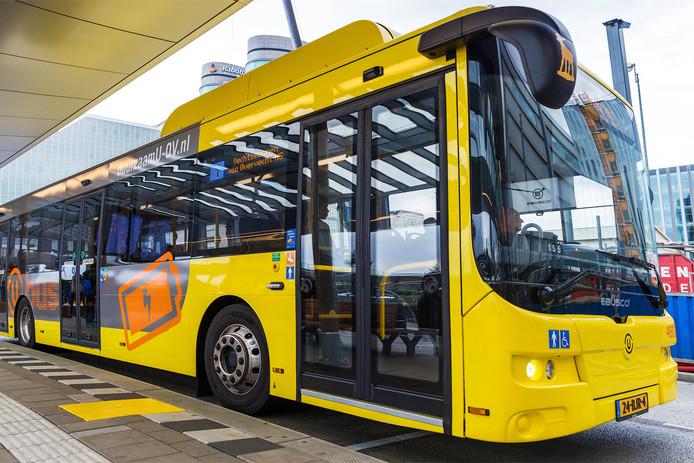 Een buschauffeur van U-OV wordt beschuldigd van agressief gedrag.