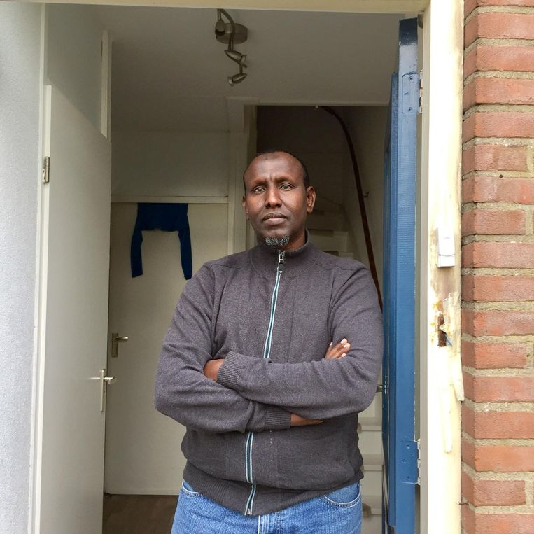 Isse Gedi, accountant uit het wetteloze Mogadishu. Beeld null