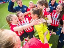 PSV Vrouwen via penalty's naar bekerfinale