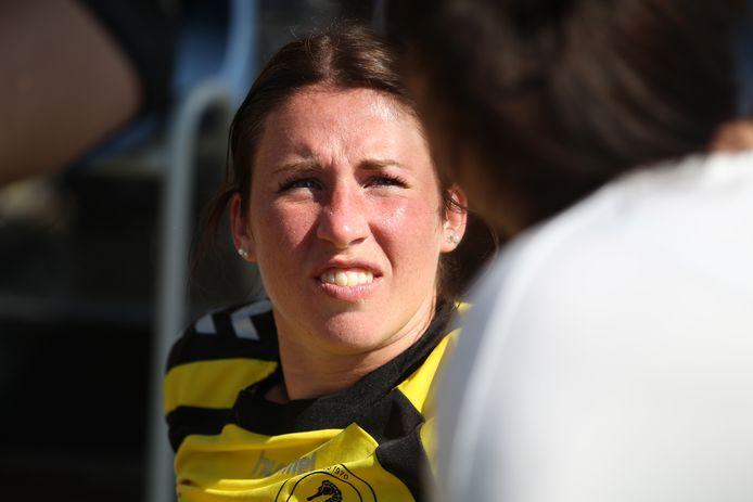 Voormalig aanvoerder Desiree Kochen verdween dit seizoen uit het team van Exakwa.