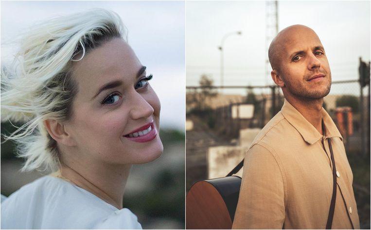 Katy Perry en Milow brachten deze week nieuwe muziek uit.