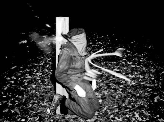 Exécution d'un collaborateur français pendant la Seconde Guerre mondiale