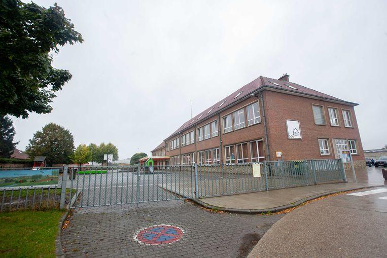 Het schoolgebouw van Triangel in het centrum van Pamel.