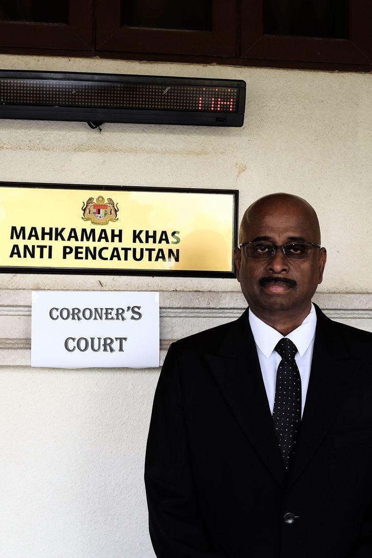 Sanakar Nair, de advocaat van de nabestaanden van Ivana Smit.