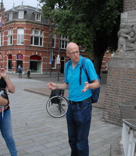Bossche stadsgids Bootsma verzorgt wandelingen op rijm