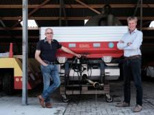 Met een innovatieve meststrooier op weg naar een afvalloze landbouw