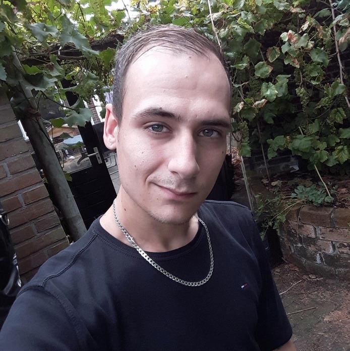 De vermiste Joey Hoffmann (22)