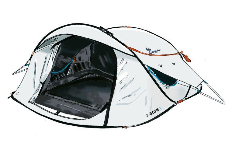 Fresh & Black–tent Beeld Andrea Turvey