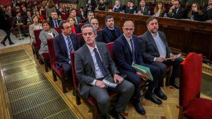 """Advocaat Catalaanse ex-vicepremier noemt proces over onafhankelijkheid """"een klucht"""""""