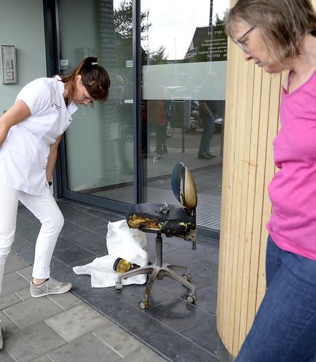 Medewerker blust brandje bij de tandarts in Werkendam
