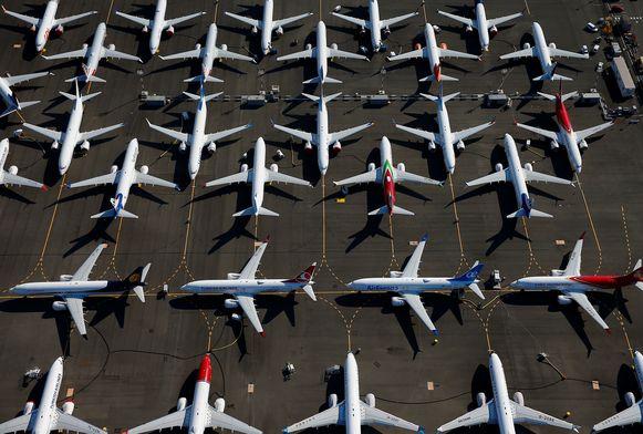 De 737 MAX-vloot staat sinds midden maart wereldwijd aan de grond