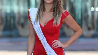Veronique Delcroix (28) is finaliste Miss Welness Beauty