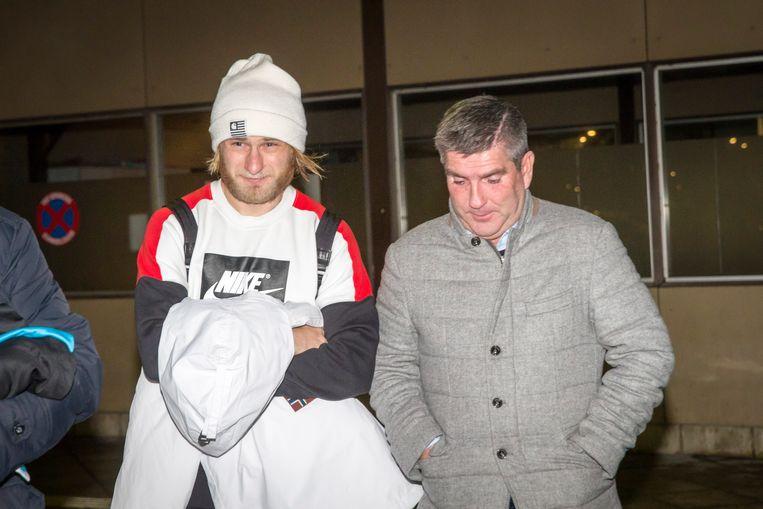 Roman Bezus legde gisteren zijn medische testen af in het UZ van Gent.