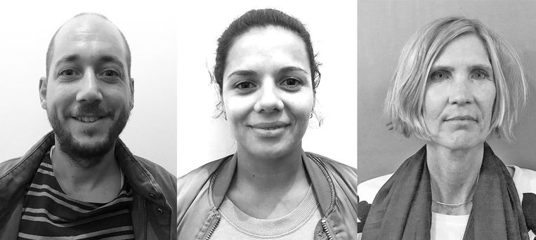 Popcornpanel: Gijs Dekkers, Marlou Letsoin en Margot Loorbach Beeld Marieke de Ruiter